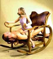 секс игрушки кресло качалка-мс3